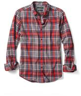Banana Republic Grant-Fit Luxe Flannel Large Tartan Shirt