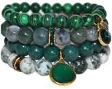 Gemstone Bracelet Set