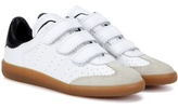 Etoile Isabel Marant Beth Leather And Suede Sneakers