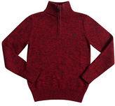 Chaps Cotton Jacquard Pullover