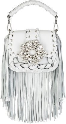 Gedebe White Alice Small Bag