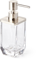 Waterworks Studio Clear Glass Pump Dispenser