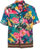 Valentino tropical print shirt - men - Cotton/Polyester/Viscose - 39