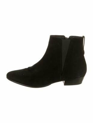 Etoile Isabel Marant Suede Chelsea Boots Black