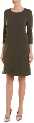 Armani Collezioni Wool-Blend Shift Dress