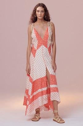 Rebecca Taylor Block Print Mix Tank Dress