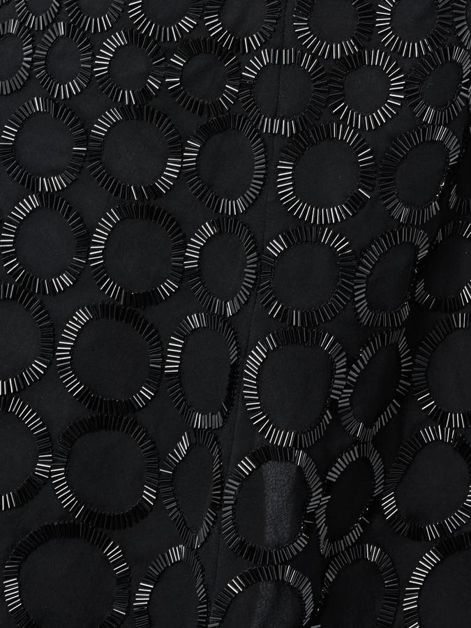 Balenciaga Circle bead-embellished dress