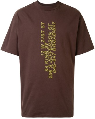 Honey Fucking Dijon Text-Print T-Shirt