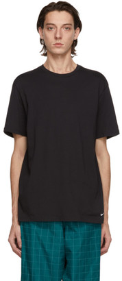 Nike Two-Pack Black Cotton Everyday T-Shirts