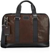 Tumi Alpha Bravo Andrews Slim Leather Briefcase
