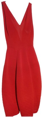 Maison Rabih Kayrouz Red Cotton - elasthane Dresses