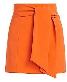 Alice + Olivia Women's Riva Tie-Waist Mini Skirt - Size 0