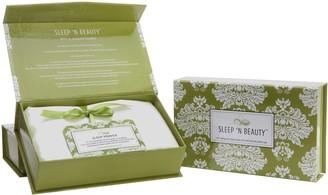 Sleep 'N Beauty 100% Silk King Pillowcase 2-Pack With Gift Box