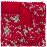Gucci floral print scarf - women - Silk/Modal - One Size
