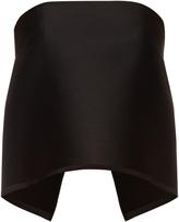 Dion Lee Levitation strapless wool-blend bandeau top