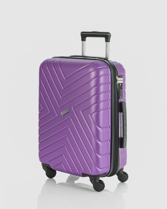 Jett Black Maze Carry On Suitcase
