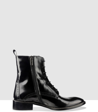 Habbot. Aldo Flat Lace-Up Ankle Boot