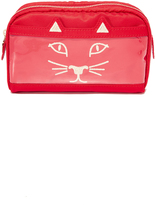 Charlotte Olympia Purrrfect Makeup Bag
