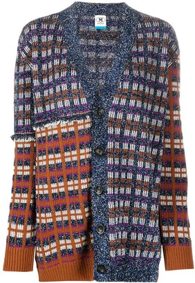 M Missoni Lame-Knit Interwoven Cardigan