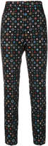 Paul Smith floral embroidered trousers