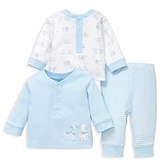 Little Me Boys' Puppies Tops & Pants 3-Piece Set - Baby