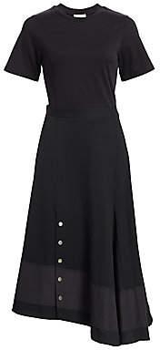 3.1 Phillip Lim Women's Asymmetric Flare Wool Dress