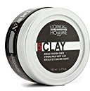 L'Oreal 5 Clay Strong Hold Matt Clay for Men, 1.7 Ounce