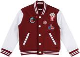 Little Marc Jacobs Pathwork Neoprene Baseball Jacket
