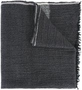 Woolrich stripe detail scarf