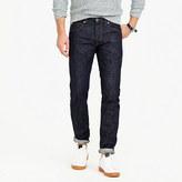 J.Crew Wallace & Barnes slim selvedge jean in raw indigo