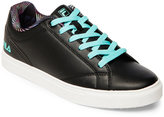 Fila Black & Aqua Amalfi Low Top Sneakers
