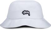 Stussy Stock Logo Pique Bucket Hat