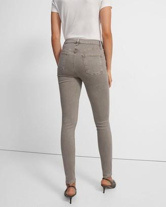 J Brand Maria High-Rise Skinny Jean in Stretch Denim