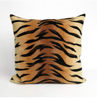 "Liora Manné Visions I Tiger Indoor, Outdoor Pillow - 20"" Square"