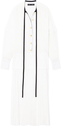 Proenza Schouler Long-Sleeved Pleated Dress