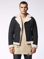 Diesel DieselTM Leather jackets 0LAQT - Black - L