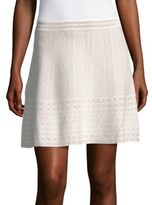 BCBGMAXAZRIA Knit Sweater Skater Skirt