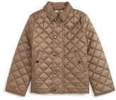 Burberry Toddler Boy's Mini Luke Quilted Jacket
