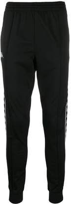 Kappa logo band track trousers