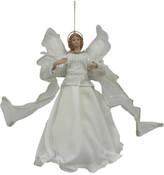 Christmas Shop Orn-Holy Angel White