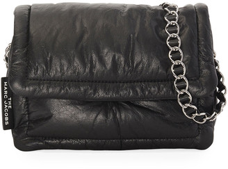 Marc Jacobs The The Pillow Shiny Leather Shoulder Bag
