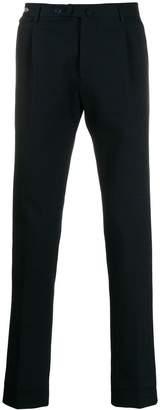 Tagliatore tailored straight leg trousers