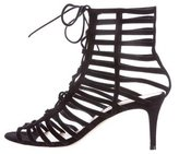 Gianvito Rossi Torrie Caged Sandals