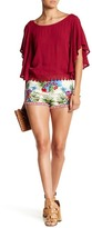 Flying Tomato Tropical Print Short