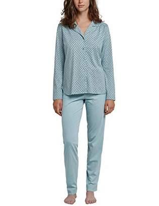 Schiesser Women's Lang Pyjama Sets,(Size: 044)