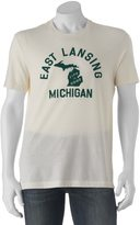"Life is Good Men's East Lansing"" Tee"