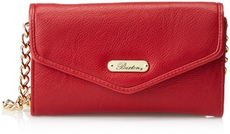 Buxton Women's Chained Crossbody Wallet