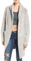 Blank NYC Women's Blanknyc 'Textationship' Knit Hooded Cardigan