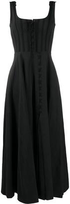 Brock Collection Ruffled Sleeveless Maxi Dress
