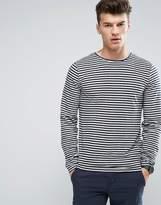 D-Struct Stripe Long Sleeve Top